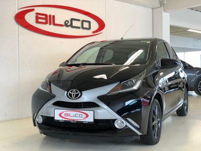 begagnad Toyota Aygo 1,0 VVT-I X-Black 69HK 5d