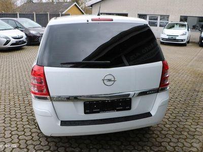 brugt Opel Zafira 1,7 CDTI DPF Limited Edition 125HK 6g