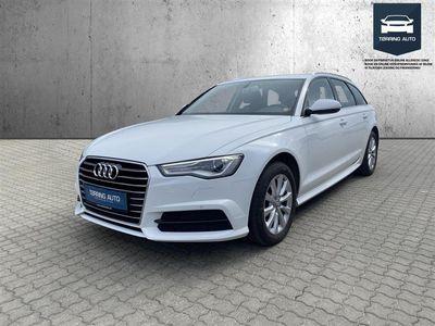 brugt Audi A6 Avant 2,0 TDI Ultra S Tronic 190HK Stc 7g Aut. - Personbil - Hvid