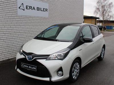 brugt Toyota Yaris 1,5 VVT-I PURE Safety Sense E-CVT 100HK 5d