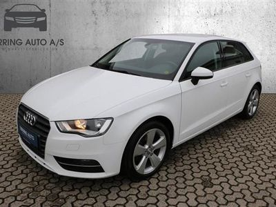usado Audi A3 Sportback 1,6 TDI Sport S Tronic 110HK Stc 7g Aut. - Personbil - hvid