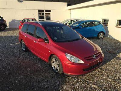 brugt Peugeot 307 2,0 HDI 136HK Van 6g