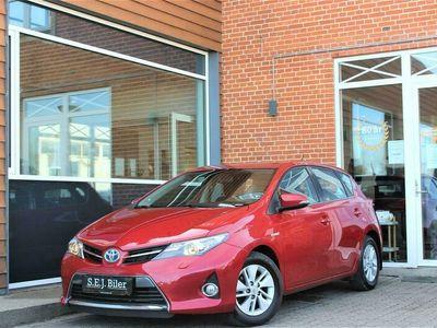 brugt Toyota Auris Hybrid 1,8 Hybrid 136HK 5d Aut. A++