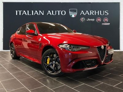 used Alfa Romeo Giulia 2,9 32V Quadrifoglio 510HK 8g Aut.
