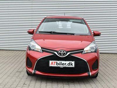 brugt Toyota Yaris 1,0 VVT-I T2 Touch 69HK 5d A+