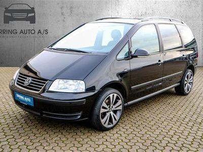 brugt VW Sharan 2,0 TDI DPF Trendline 140HK 6g - Personbil - sort