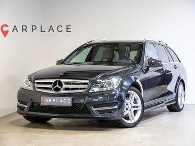 brugt Mercedes C200 2,2 CDi Avantgarde AMG stc. aut.