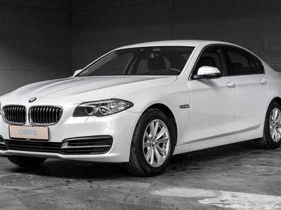 brugt BMW 520 d 2,0 D Steptronic 190HK Aut.