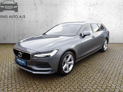brugt Volvo V90 2,0 D4 Momentum 190HK Stc 6g - Personbil - koksmetal