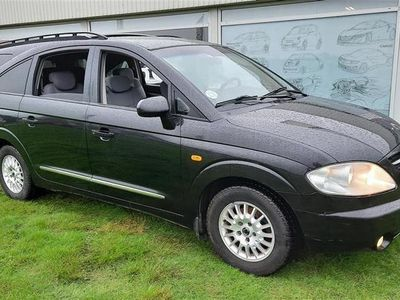 brugt Ssangyong Rodius 2,7 Xdi Freedom 4x2 165HK