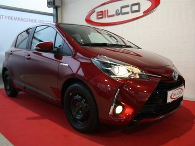 usata Toyota Yaris 1,5 B/EL H3 E-CVT 100HK 5d Trinl. Gear