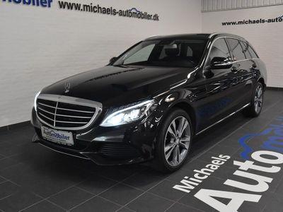 brugt Mercedes C220 2,2 BlueTEC Exclusive stc. aut.