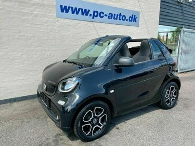 brugt Smart ForTwo Electric Drive Cabrio Passion 2d