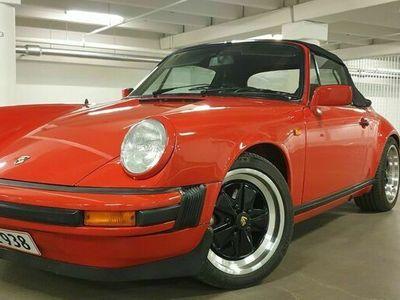 brugt Porsche 911 3,2 Cabriolet