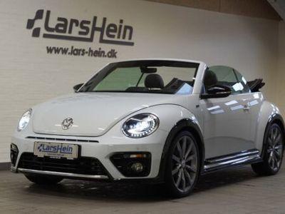brugt VW Beetle TheTDi 150 R-line Cabriolet DSG