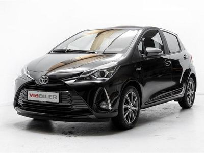 brugt Toyota Yaris 1,5 B/EL H3 Y20 E-CVT 100HK 5d Trinl. Gear