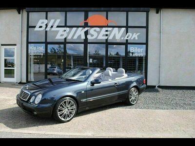 brugt Mercedes CLK200 CL-Klasse2,0 Sport cab.