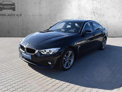 brugt BMW 420 Gran Coupé d 2,0 D Steptronic 190HK 5d 8g Aut. - Personbil - sortmetal