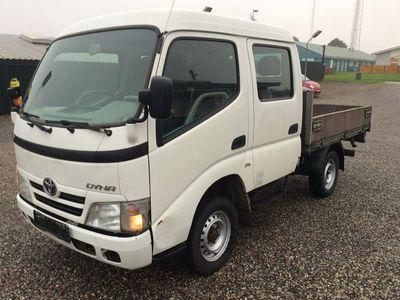brugt Toyota Dyna 100 3,0 D-4D Db.Cab m/trælad