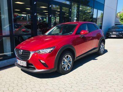 brugt Mazda CX-3 2,0 Skyactiv-G Vision 120HK 5d 6g Aut.