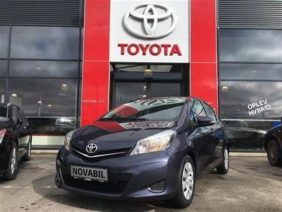 brugt Toyota Yaris 1,4 D-4D T2 Touch 90HK 5d 6g