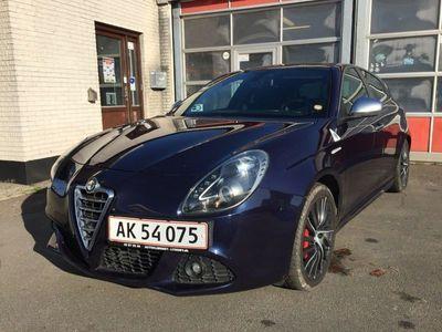 brugt Alfa Romeo Giulietta 1,75 TBi Quadrifoglio Verde
