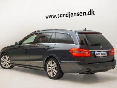 brugt Mercedes E220 2 CDi Avantgarde st.car aut. BE