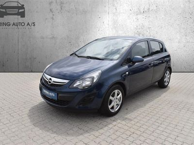 brugt Opel Corsa 1,2 Twinport Enjoy Cool 85HK 5d - Personbil - Blå