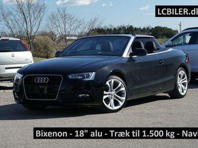 brugt Audi A5 Cabriolet 1,8 TFSi 170