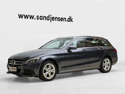 gebraucht Mercedes C220 d 2,2 Avantgarde stc. aut.