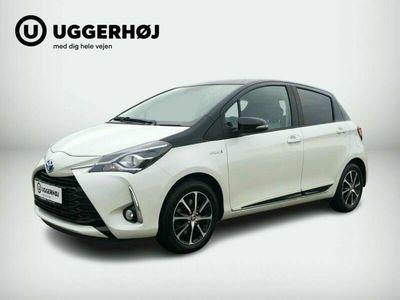 brugt Toyota Yaris Hybrid 1,5 Hybrid Premium e-CVT