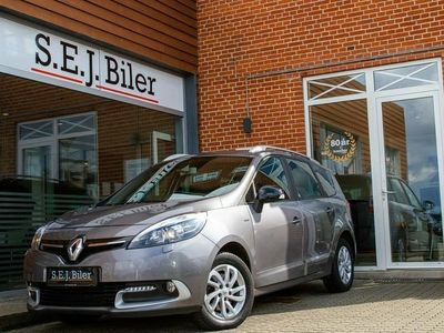 brugt Renault Grand Scénic III 1,5 dCi Limited Edition ESM 7p 110HK 5d