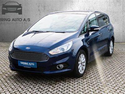 używany Ford S-MAX 2,0 TDCi Trend Powershift 150HK 6g Aut. - Personbil - mørkblå