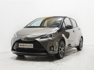 brugt Toyota Yaris 1,5 VVT-I T3 Premiumpakke Multidrive S 111HK 5d 6g Aut.