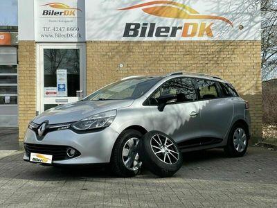 brugt Renault Clio IV 1,5 dCi 75 Expression Sport Tourer