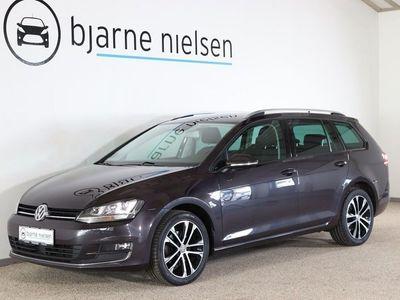 brugt VW Golf VII 1,6 TDi 110 Lounge Variant DSG