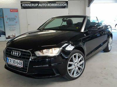brugt Audi A3 Cabriolet 1,6 TDi 110