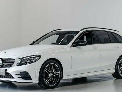 brugt Mercedes C220 d AMG Line stc. aut. 2021