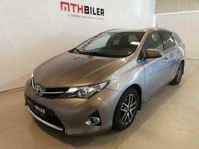 brugt Toyota Auris 1,3 VVT-I T2+ 99HK Stc 6g