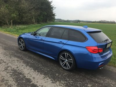 brugt BMW 320 D M-Sport Touring Auto