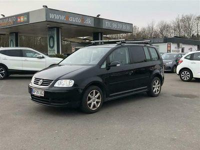 brugt VW Touran 7 Sæder 1,6 Trendline 115HK 6g