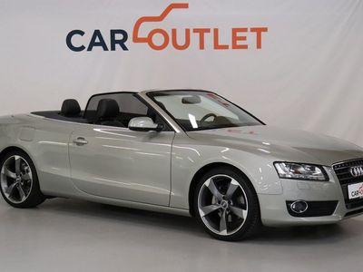 brugt Audi A5 Cabriolet 2,0 TFSi 211