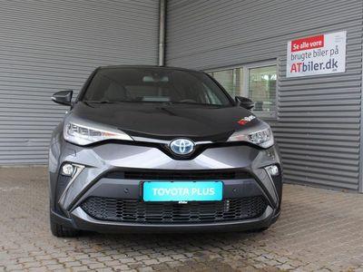 brugt Toyota C-HR 1,8 B/EL C-LUB Smart Multidrive S 122HK 5d Aut. A++
