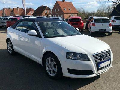 brugt Audi A3 Cabriolet 1,8 TFSi Attraction