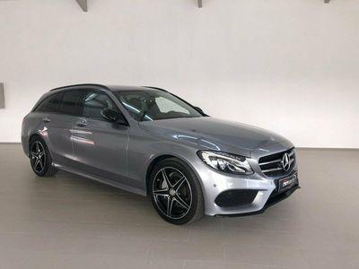 brugt Mercedes C200 d 1,6 AMG Line stc.