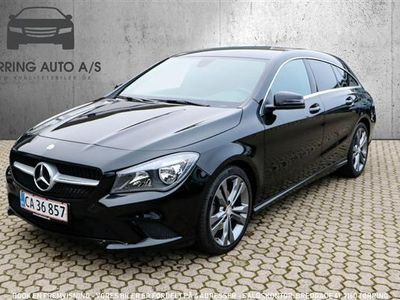 used Mercedes CLA200 1,6 156HK 4d 6g - Personbil - sort