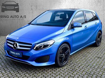 brugt Mercedes B180 1,5 CDI 7G-DCT 109HK Aut. - Personbil - blåmetal
