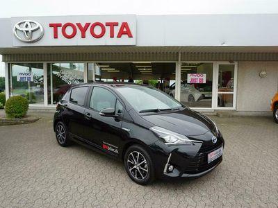 brugt Toyota Yaris Hybrid 1,5 B/EL Limited E-CVT 100HK 5d Trinl. Gear A++