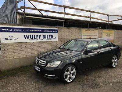 brugt Mercedes C250 d 2,2 CDI BlueEfficiency 204HK 7g Aut.