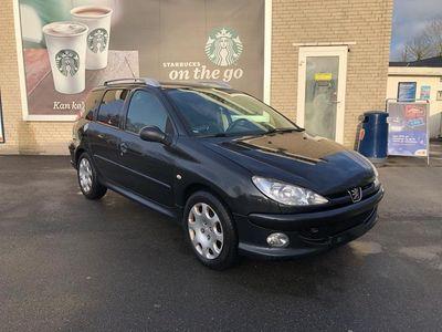 brugt Peugeot 206 1,6 Nysynet Familie Vogn